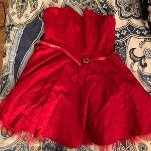 NEVER WORN red lace dress